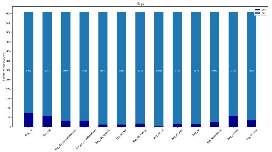 Sample flag data
