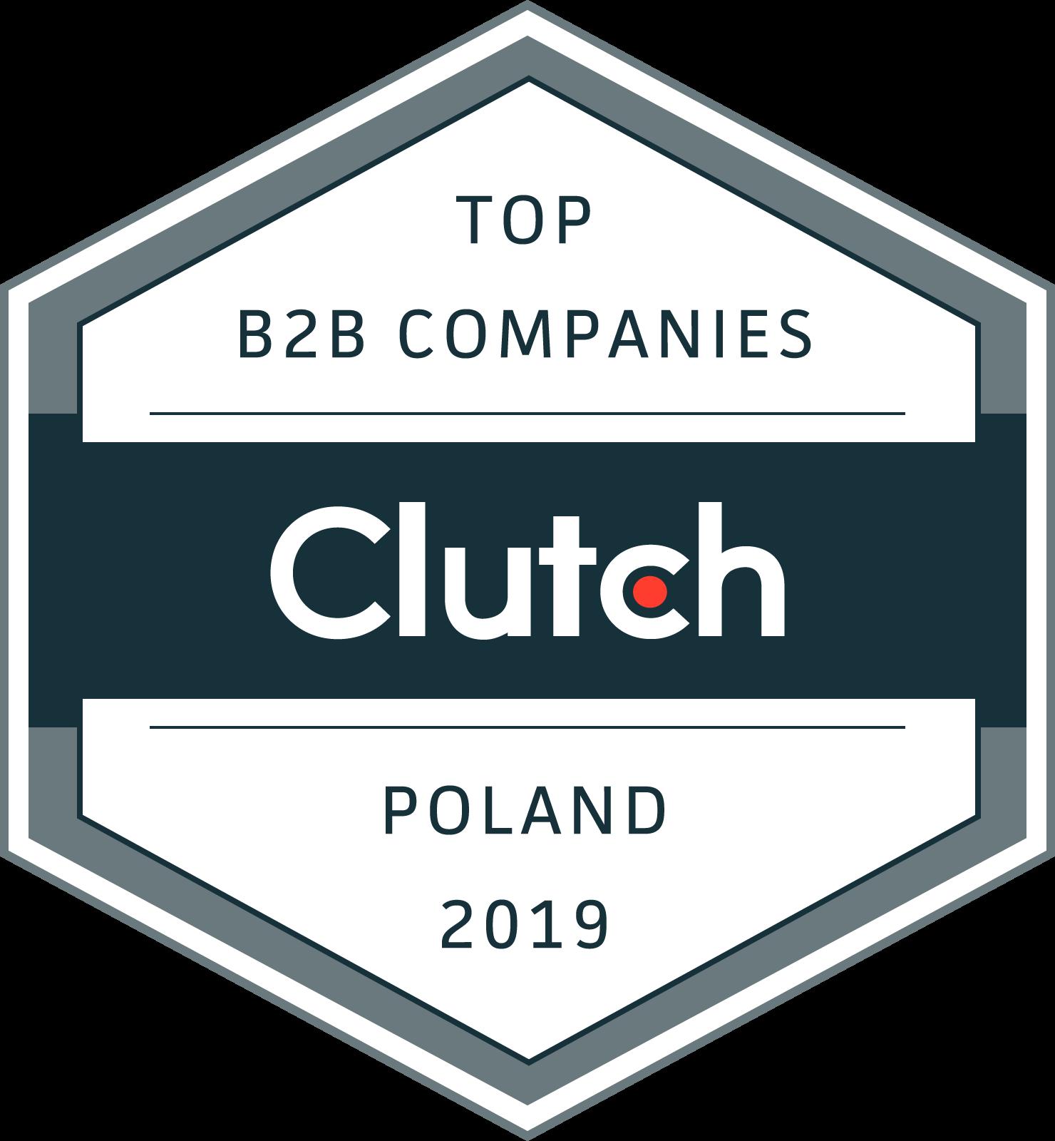 TOP B2B COMPANIES Clutch POLAND 2019